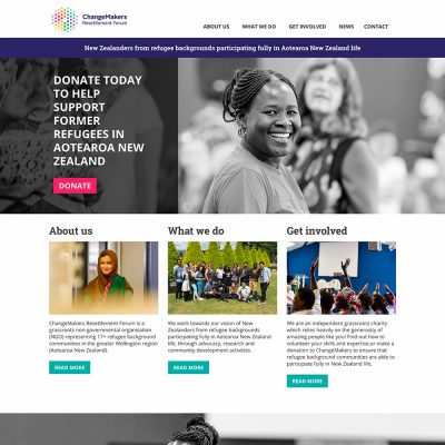 ChangeMakers website